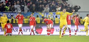 Ukraine vs Österreich - copyright by APA/Roland Schlager
